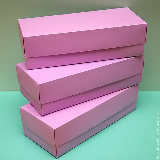 Подарочные наборы ручной работы. Ярмарка Мастеров - ручная работа. Купить Коробка 28х12х8 см. Handmade. Сиреневый