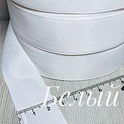 Аксессуары для вышивки ручной работы. Ярмарка Мастеров - ручная работа Репсовая лента 25 мм. Handmade.