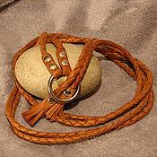 Аксессуары ручной работы. Ярмарка Мастеров - ручная работа пояс плетеный. Handmade.