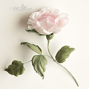 Цветы и флористика handmade. Livemaster - original item Rosette made of silk. Flowers made of fabric. Roses for girls. Handmade.