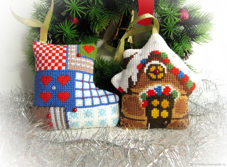 """Набор елочных игрушек """"В канун Нового года"""", Christmas decorations, Moscow,  Фото №1"""