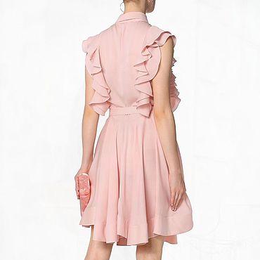Одежда ручной работы. Ярмарка Мастеров - ручная работа Нарядное платье. Отлично подойдет для работы и повседневной жизни. Handmade.