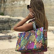 Сумки и аксессуары handmade. Livemaster - original item Karbi Python skin bag. Handmade.