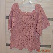 Одежда ручной работы. Ярмарка Мастеров - ручная работа Женская летняя майка. Handmade.