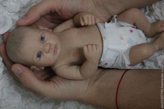 Куклы-младенцы и reborn ручной работы. Ярмарка Мастеров - ручная работа. Купить Малыш Веня2. Handmade. Бежевый, виниловая кукла