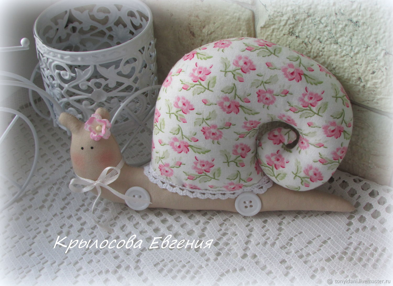 Tilda Animals: Snail in the style of the Tilde, Tilda Toys, Novouralsk,  Фото №1