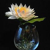 Цветы и флористика handmade. Livemaster - original item The Lily of polymer clay. Handmade.