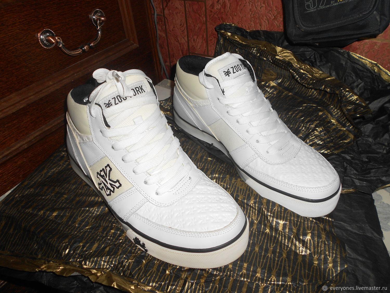 Винтаж: Кожа улетные кроссы, Винтажная обувь, Москва,  Фото №1