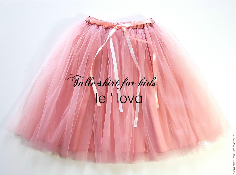 Сшить юбка из фатина для девочки 16