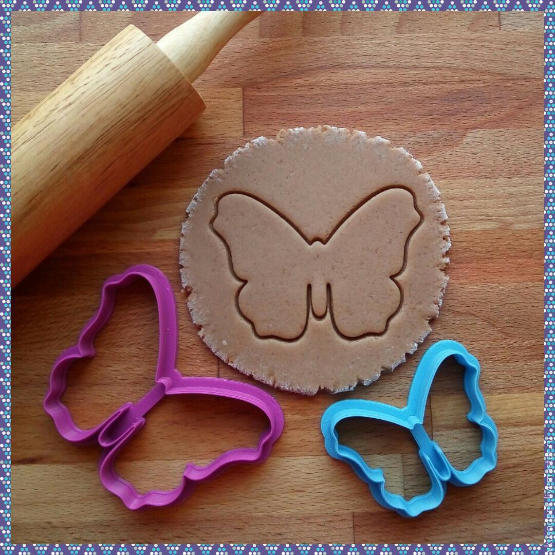 Форма для печенья бабочки 8