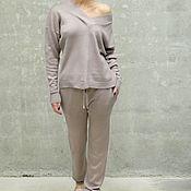 Одежда handmade. Livemaster - original item Women`s knitted suit Cold Rose. Handmade.