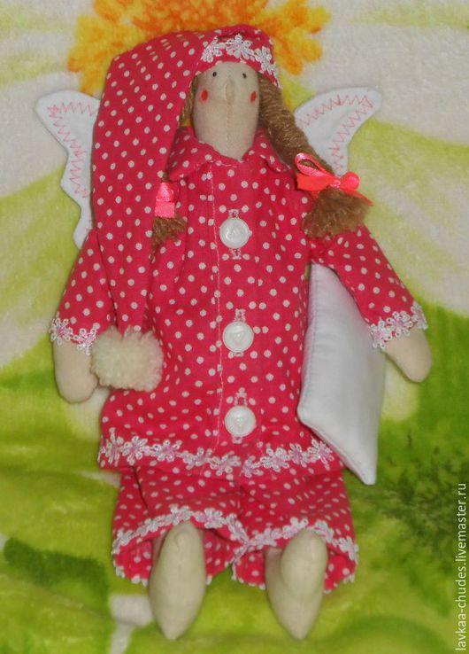 Куклы Тильды ручной работы. Ярмарка Мастеров - ручная работа. Купить Сплюшка Тильда. Handmade. Комбинированный, тильда ангел, сплюшка