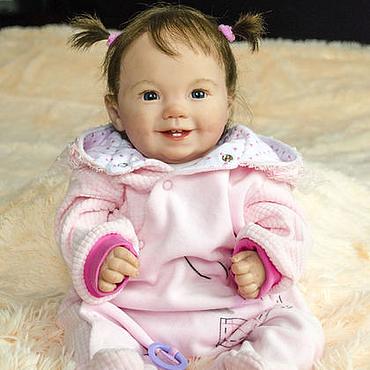 Куклы и игрушки ручной работы. Ярмарка Мастеров - ручная работа Кукла реборн Маруся (молд Эмилия). Handmade.