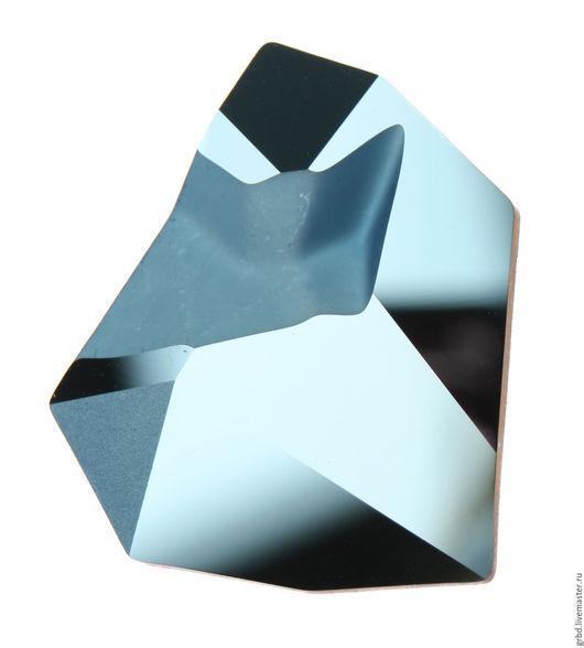 Для украшений ручной работы. Ярмарка Мастеров - ручная работа. Купить Kaputt Fancy Metallic Blue. Handmade. Кристаллы для украшений