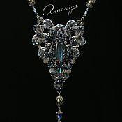"""Украшения handmade. Livemaster - original item Necklace """"Demeter`s sleep"""". Handmade."""