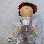 Куклы и игрушки ручной работы. Ярмарка Мастеров - ручная работа Текстильный мальчик - ангелочек. Handmade.