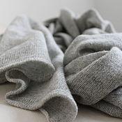 Шарфы ручной работы. Ярмарка Мастеров - ручная работа Кашемировый палантин Вязаный шарф из кашемира. Handmade.