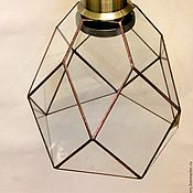 Для дома и интерьера handmade. Livemaster - original item Ceiling pendant lamp in the Loft. Loft. Handmade.