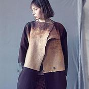Одежда handmade. Livemaster - original item Long coat from felt, Long Luxury Сoat, Winter Long Coat. Handmade.