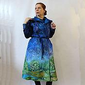Одежда handmade. Livemaster - original item Felted coat Spring road! sleeveless. Handmade.