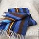 """Шарфы и шарфики ручной работы. Ярмарка Мастеров - ручная работа. Купить валяный  шарф """"Джинс"""". Handmade. Синий, войлочный шарф"""