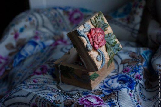 Шкатулки ручной работы. Ярмарка Мастеров - ручная работа. Купить Роза. Handmade. Комбинированный, липа, шкатулка деревянная, сувенир