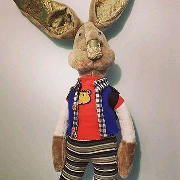 Куклы и игрушки ручной работы. Ярмарка Мастеров - ручная работа Зайка Флеркин. Handmade.