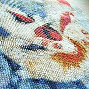 """Картины и панно ручной работы. Ярмарка Мастеров - ручная работа Вышивка крестом """"9 карпов"""". Handmade."""