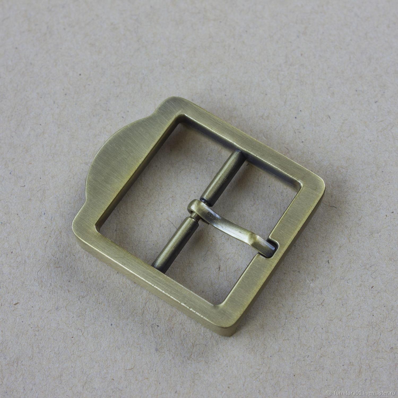 Другие виды рукоделия ручной работы. Ярмарка Мастеров - ручная работа. Купить Пряжка металлическая. (515) 32 мм. Фурнитура для сумок. Handmade.