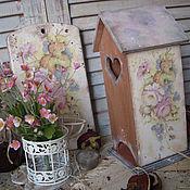 """Для дома и интерьера ручной работы. Ярмарка Мастеров - ручная работа """" Аромат чайной розы"""" - набор для кухни. Handmade."""