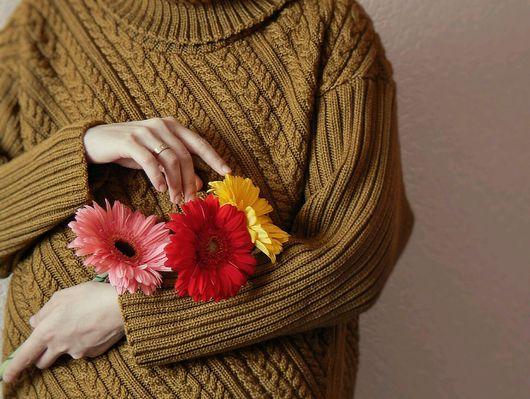 Кофты и свитера ручной работы. Ярмарка Мастеров - ручная работа. Купить Свитер Brooklyn Tweed. Handmade. Уютный свитер, большой свитер