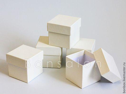 Упаковка ручной работы. Ярмарка Мастеров - ручная работа. Купить Плотная картонная коробка 8х8х8 см.. Handmade. Коробка, коробочки