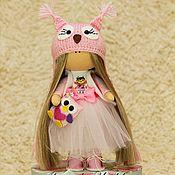 Куклы и игрушки ручной работы. Ярмарка Мастеров - ручная работа Интерьерная кукла - Сова. Handmade.