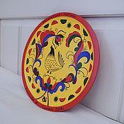 Тарелки ручной работы. Ярмарка Мастеров - ручная работа Ракульская тарелочка декоративная. Handmade.