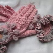 Аксессуары handmade. Livemaster - original item Gloves Lady in pink. Handmade.