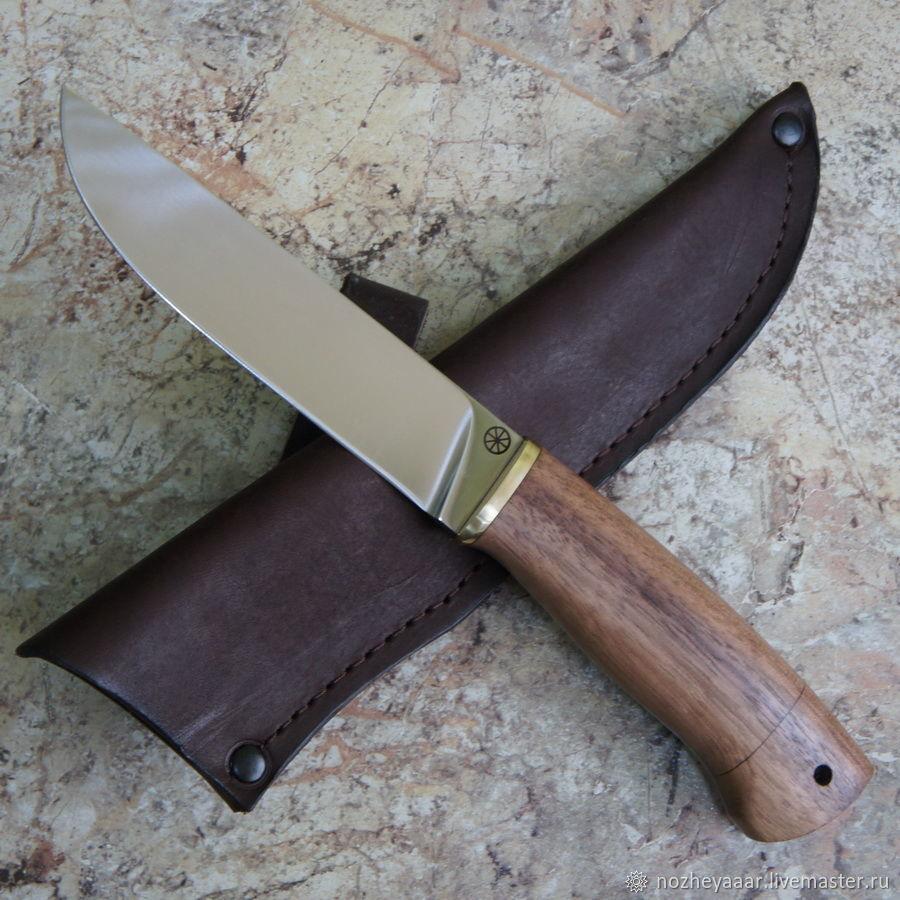 Knife 'Fang-1' 95h18 walnut, Knives, Vorsma,  Фото №1