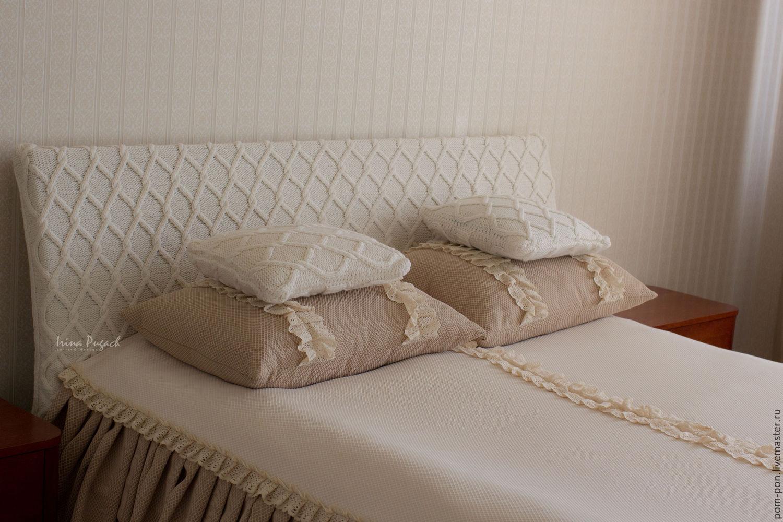 Чехол на спинку кровати