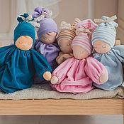 Материалы для творчества ручной работы. Ярмарка Мастеров - ручная работа Набор для шитья вальдорфской куколки - сплюшки. Handmade.