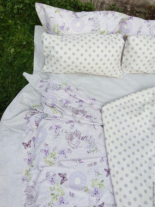 Текстиль, ковры ручной работы. Ярмарка Мастеров - ручная работа. Купить Постельное белье «Когда часы 12 бьют» лен, комплект постельного белья. Handmade.