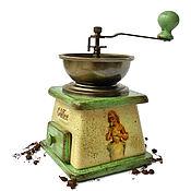 Утварь ручной работы. Ярмарка Мастеров - ручная работа Винтажная кофемолка «Ароматное утро».. Handmade.