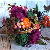Цветы и флористика ручной работы. Ярмарка Мастеров - ручная работа Мини-букеты в конусах. Handmade.