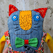 Куклы и игрушки ручной работы. Ярмарка Мастеров - ручная работа Савелий и ручная мышь Инна. Handmade.