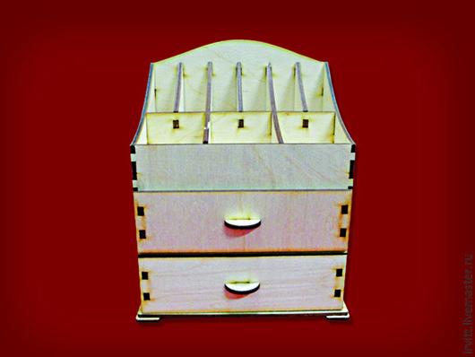 Декупаж и роспись ручной работы. Ярмарка Мастеров - ручная работа. Купить Ящик для кос. МАЛЕНЬКИЙ с двумя выдвижными отсеками,.арт.152233-s. Handmade.
