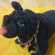 Подарки к праздникам handmade. Livemaster - original item Bulldog Hercule. Handmade.