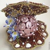 Сувениры и подарки ручной работы. Ярмарка Мастеров - ручная работа Ракушка с жемчужиной. Handmade.