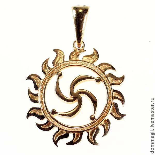 Rod's symbol, Amulet, Moscow,  Фото №1