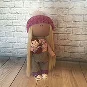 Куклы и игрушки ручной работы. Ярмарка Мастеров - ручная работа Куколка интерьерная. Handmade.