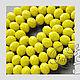 Для украшений ручной работы. 10 шт Рондель матовая бусина стеклянная  граненая 6 х 8 мм 077. GalA beads - 2. Ярмарка Мастеров.
