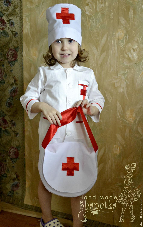 Сшить детский костюм медсестры своими руками 42