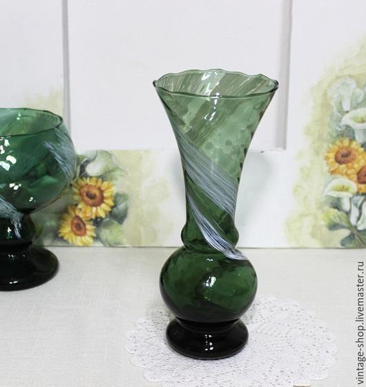 Винтажные предметы интерьера. Ярмарка Мастеров - ручная работа. Купить Винтажная ваза для цветов, ручная работа, Германия 1970-е годы. Handmade.